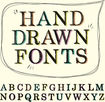 Adobe illustrator free hand script fonts free vector download