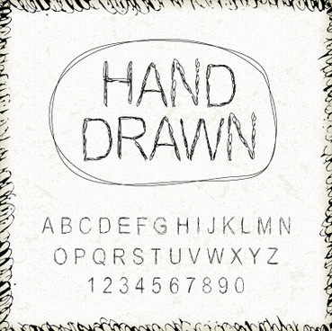 Adobe illustrator free hand script fonts free vector