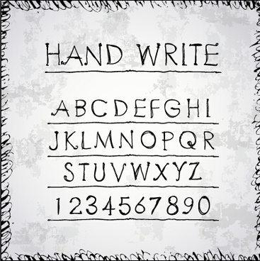 Hand symbol fonts free free vector download (31,850 Free vector) for