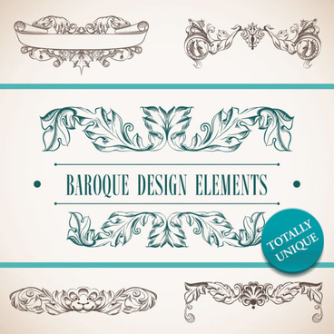 hand drawn retro decorative border art vector
