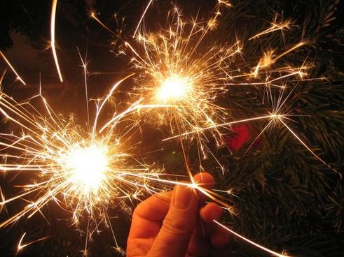 hand sparklers radio