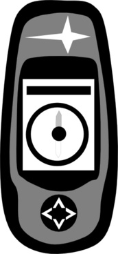 Handheld Gps clip art