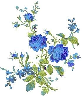 handpainted flowers layered psd 6