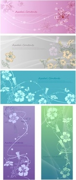 handpainted flowers vector dream