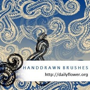 Handrawn Swirls