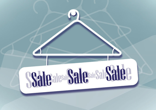 hanger sale banner design