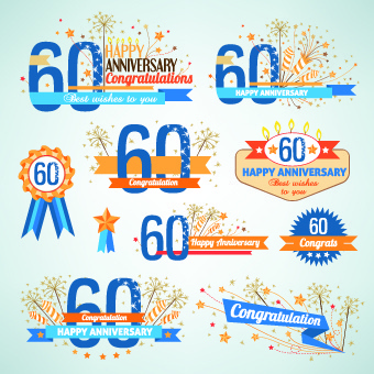happy anniversary banner free vector download 13 931 free vector