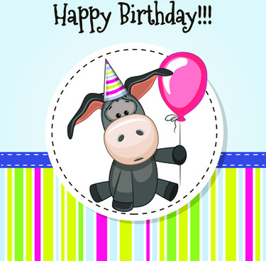 Background Happy Birthday Baby Free Vector Download 52389 Free