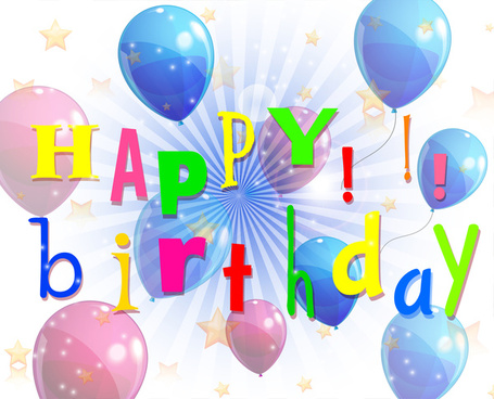 Free Download Happy Birthday Images Vector 5375