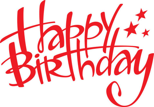happy birthday logo elements free vector download 99 070 free rh all free download com happy birthday logos free download Happy 48th Birthday Clip Art