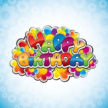 Happy Birthday Clip Art Free Free Vector Download 224 311 Free Vector For Commercial Use Format Ai Eps Cdr Svg Vector Illustration Graphic Art Design