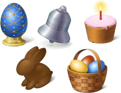 Happy Easter Icons icons pack