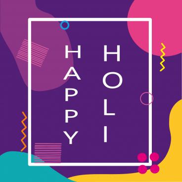 happy holi colorful holi holi greeting card holi background