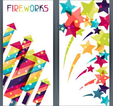 happy holiday banners creative vector