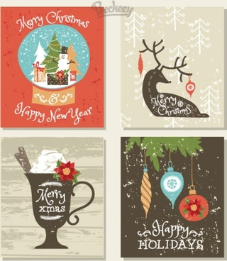 happy holidays cards