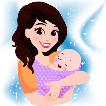 Mother Love Baby Free Vector Download 6 950 Free Vector For Commercial Use Format Ai Eps Cdr Svg Vector Illustration Graphic Art Design