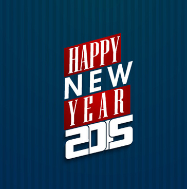 happy new year15 dark blue background
