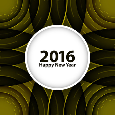 happy new year 2016 background