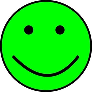 Happy Smiling Face clip art
