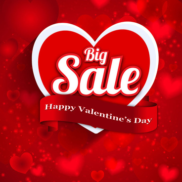 happy valentine day big sale