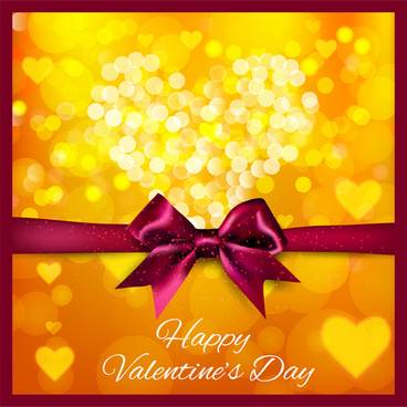 happy valentine day card background