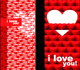happy valentine day creative banner vector