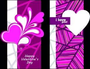 happy valentine day creative banner vector