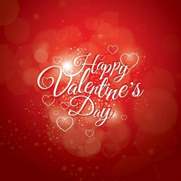 Happy Valentines Day Everyone Vector Graphic