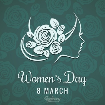 happy womens day background