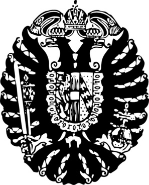 Hapsburg Crest clip art