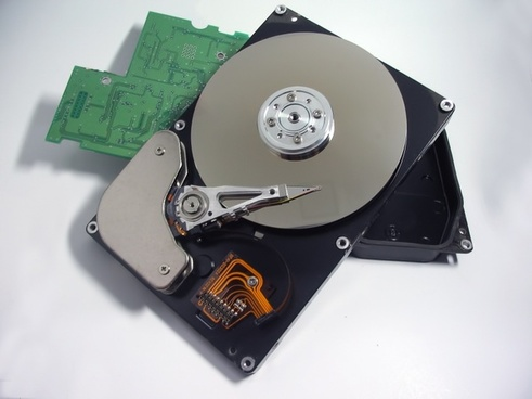 hard drive metal hardware