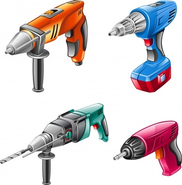 hardware power tools vector