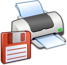 Hardware Printer Floppy