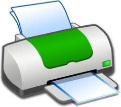 Hardware Printer Green