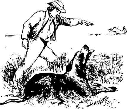 Hare And Hound clip art