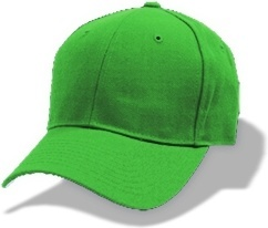 Hat baseball green