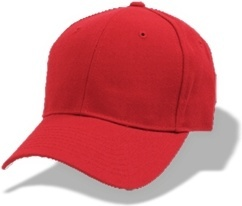 Hat baseball red