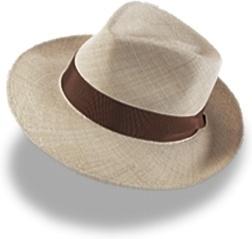 Hat linen trilby
