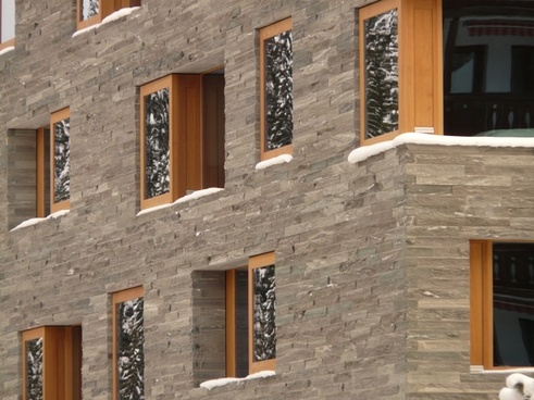 hauswand window facade