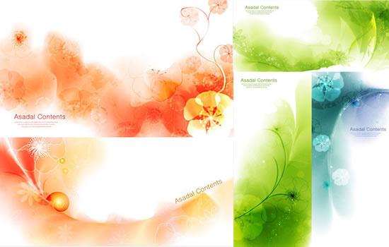 hazy mosaic background vector