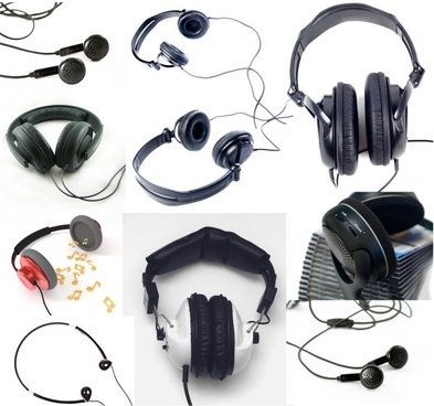 headphone series of highdefinition picture