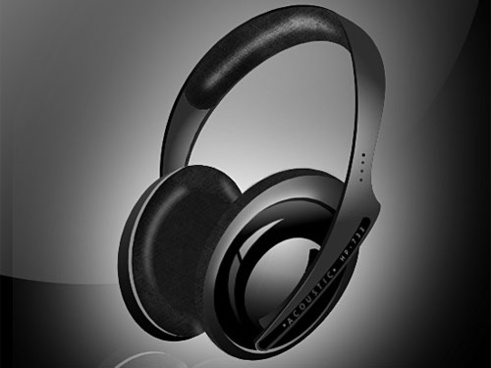 Headphones PSD file
