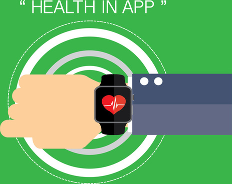health app in smart watch