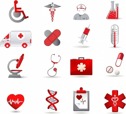 Health Care Icon Set