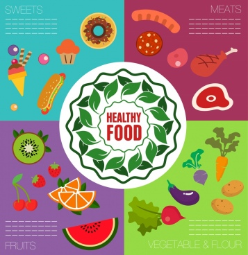 Fruits And Vegetables Clip Art Free Vector Download 219 640 Free