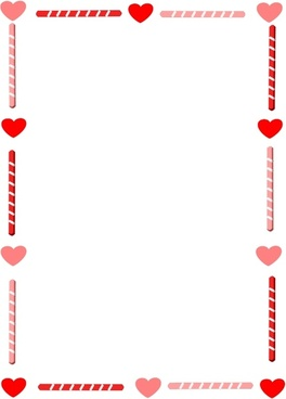 valentine border free vector download 8 009 free vector for