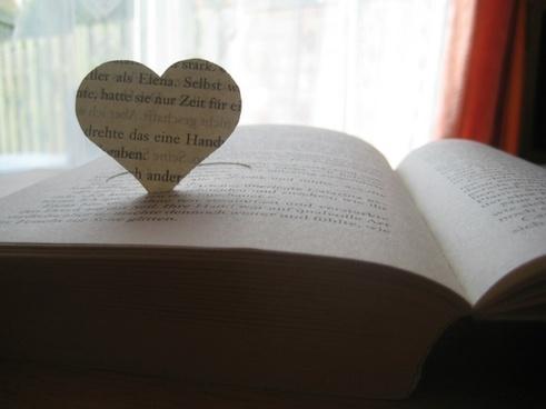 heart book love