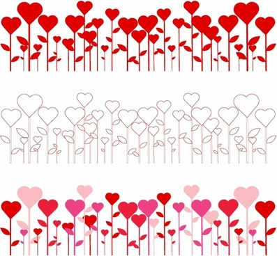 Heart Border Free Vector Download 9 554 Free Vector For Commercial