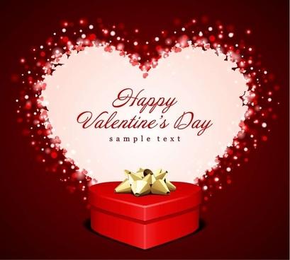 Heart Gift Valentine Card