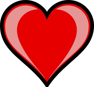 Heart Highlight clip art